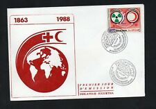 1987- 1988 - Tunisia- Tunisian Red Crescent Protection against Radiation- FDC