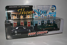 ROAD CHAMPS DIECAST THEN & NOW, 1965 & 1998 FORD MUSTANGS, 1:43, NEW IN BOX