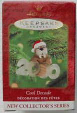 Hallmark Cool Decade Walrus Christmas Ornament Dated 2000 Mib 1st in Series