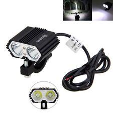5000lm 30W 2x XM-L LED Motorcycle Boat Spot Driving Headlight Fog Light Lamp