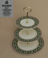 "Villeroy and Boch ""Pergamon"" THREE TIER CAKE STAND"