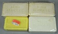 Seifenwerk Riesa GmbH + Kappus Riesa Set 4 Stück vintage Kern Seife