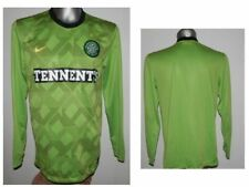 2010-11 FC Celtic Glasgow Away L/S Football Shirt Jersey excellent - soccer - M