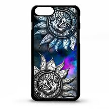 Sun and moon sky stars clouds pretty colourful print pattern phone case cover