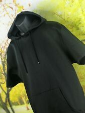 Mens Volcom Black Sleeveless Hoodie Size XL Extra Large