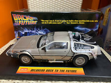 Universal Sun Star Delorean Back To The Future 1/18 DieCast Model Car New in Box