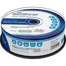 MediaRange BD-R 25GB, Blu-ray-Rohlinge