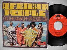 "AFRICAN PEOPLE On The March /Movin' On 45 7"" single 1971 Near Mint afrobeat funk"