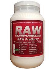 RAW Carpet Cleaning Pre-spray, Stainguard-safe Prespray, Powder Detergent