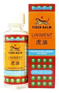 Tiger Balm Liniment Pain Relieving 2 oz/ 57 ml