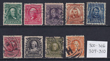 United States 1902-03 Used Lot to 50c