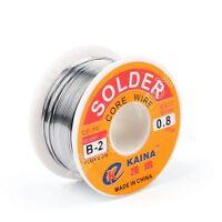 0.8mm 100g 63/37 Tin Estaño Rosin Core Soldar Wire Soldadura Welding Flux 2%