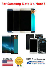 WOW For Samsung Note3 Note4 N910 Note5 N920 LCD Screen + Touch Digitizer ± Frame