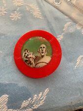 Album robot Queen lovers poker chip Jewelry Pin Ooak Paris winx Freddie mercury
