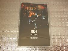 KISS - Alive ! Clear Edition Casablanca cassette SEALED NEW Old Stock