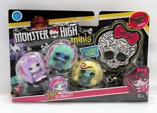 Monster High Minis Pack #5 Lagoona Blue Circus Exclusive Plus Catrine & Twyla!