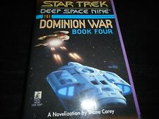 The Dominion War book 4 : Sacrifice of angels  by Diane Carey paperback