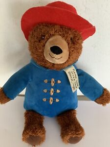 Kohl's Cares Paddington Bear 15in. plush with tag blue jacket red hat