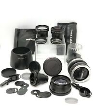 Lot Lensbaby Composer 105047 Wide Angle Telephoto Accessories Kit Fisheye Ef ?