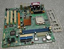 ECS 661FX-M7 REV:1.1 Socket 775 Motherboard Complete with CPU & I/O Plate