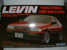 1/24 TOYOTA LEVIN AE86 .CORROLA GT (EARLY0. .  PLASTIC KIT .