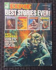 1971 EERIE ANNUAL VF- Warren Horror Magazine Johnny Craig