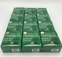 12 x 3 BALLERINA TEA WEIGHT LOSS SLIM HERBAL DRINK REGULAR STRENGTH 360 TEA BAGS