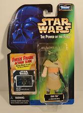 Ishi Tib POTF Freeze Frame Green Card Star Wars Action Figure