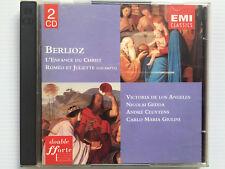 2 CD   BERLIOZ   L'enfance du Christ   Roméo et Juliette  Cluytens  Giulini