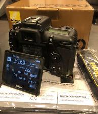 Nikon D7500 DX 20.9MP Digital SLR Camera - Black (Body Only)
