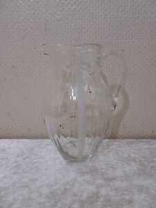 Rockabilly Design Glas Saftkrug Kanne - Handgefertigt - Vintage um 1950/60