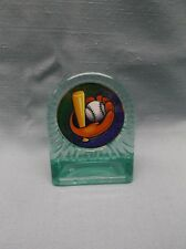 team lot of 11 Baseball trophies acrylic full color insert award ball bat mitt