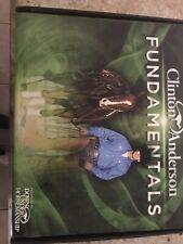 Authentic Clinton Anderson Fundamentals 14 Dvds/Arena Mates/Book/Case -Complete!