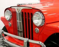 Scheinwerfer Willys Jeep Aero Falcon Eagle Bermuda NEU