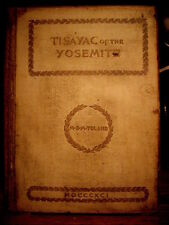 "1891 ""Tisayac of the Yosemite:"" by M.B.M. Toland   Scarce  Native American Poetr"