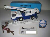 LIEBHERR LTM 1030-2 AUTOKRAN AUTORENT #2088 CONRAD 1:50 OVP