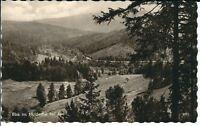 """Ansichtskarte Aue - """"Blick ins Muldental"""" - Landschaft, Natur - schwarz/weiß"""
