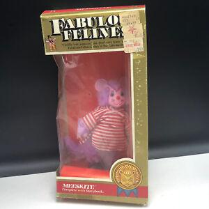 Fabulous Felines Mego Action Figure 1983 Phoenix toys cat plush Mieeskite mouse