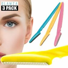 3 Pack Eyebrow Brow Shaper Razor Painless Remover Shaver Hair Trimmer Tool Set