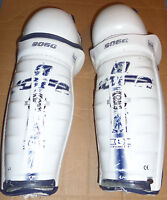 NY ISLANDERS 2007 GAME USED SHIN GUARD PAIR HYPER X JOFA 9060 STEINER SPORTS COA