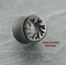 Hollow TRIBAL tunnel 12mm Orecchino Piercing Maui surfista