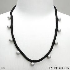 DYRBERG/KERN of DENMARK!Anasta Collection Silver Finish Stainless Steel Necklace