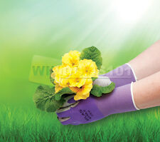 Atlas Showa 370 Nitrile Womenu0027s Gardening Gloves Equestrian   FREE SHIP!