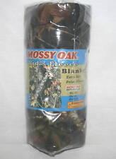 MOSSY OAK CAMO CAMOUFLAGE BOYS FLEECE THROW BLANKET