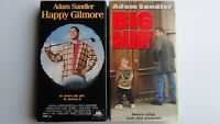 Happy Gilmore 1996 & Big Daddy 1999 with Adam Sandler VHS Classics Free Shipping