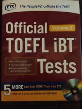 Official TOEFL IBT Tests 2 by Ets (2016, Paperback / DVD)