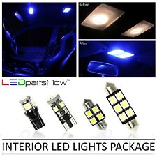 BLUE Interior LED Lights Accessories Fits 2018-2019 Volkswagen VW Atlas 13 Bulbs