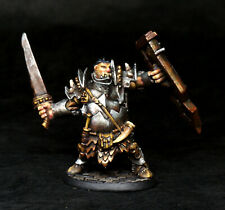 Painted Miniature Reaper Ogre Fighter Chieftain for D&D Pathfinder