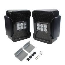 EURO LED Tail Light For 07-16 Jeep Wrangler JK Reverse Turn Signal Brake Lamp