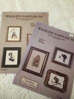 Wildlife VII VIII Cross Stitch Pattern Booklets Joyce Bailey Animals Needlecraft